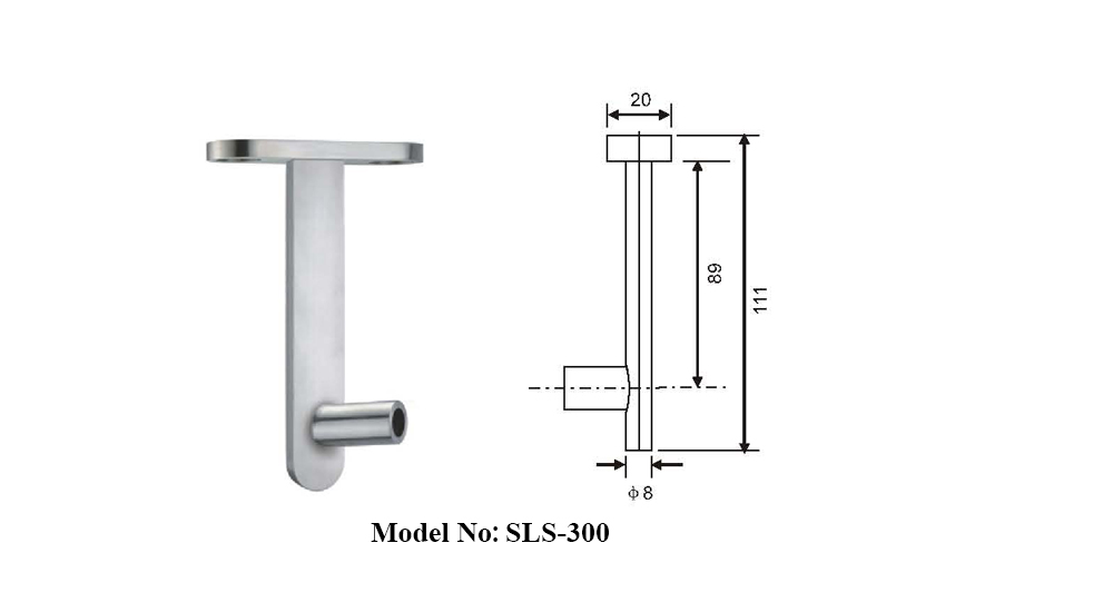 Stainless Steel Laguna Sliding Shower Door Kits