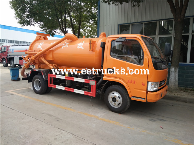 5 CBM Fecal Suction Trucks