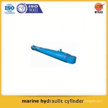 Quality assured piston type marine hydraulic cylinder for marine