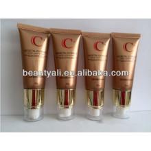 Airless cosméticos de plástico de embalaje suave tubo de la bomba