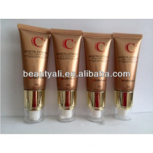 Airless cosmetic plastic soft packaging pump tube