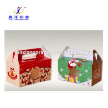 Forme personnalisée! Vente en gros 2 Cupcake Décoration Noël Cadeau Gâteau Boîte d'emballage
