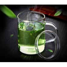Стеклянный стаканчик с термостойким стеклом для питья