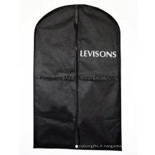 Sac promotionnel personnalisé PP Non Woven Suit Cover Garment Packaging Bag