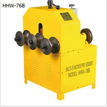HHW-76B electric rolling pipe bending machine for sale