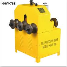 Máquina de dobra de metal HHW-G76 com 3 rolos fabricados na China