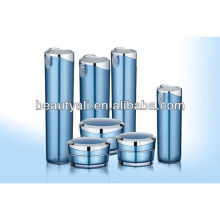 oblique tapered cosmetic packing acrylic container 5ml 10ml 15ml 30ml 50ml 100ml