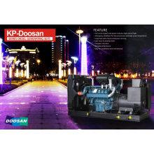 Doosan Diesel Engine 70kw/ 87.5kVA Electric Generator