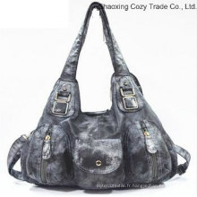 Mode populaire sac à main sac Messenger Bag multifonctionnel femme PU