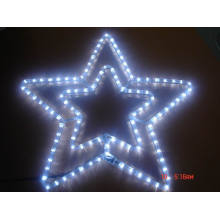 Estrela da lua para a luz do motivo decoram o Natal eo feriado