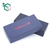 выполненная на заказ квадратная причудливая бумажная коробка ювелирных изделий бумажная упаковывая с линт вставлять