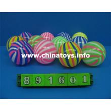 7cm Bola de playa del juguete promocional, bola de playa inflable (891601)
