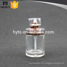 Botella transparente de la bomba de la loción de cristal al por mayor 50ml