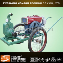 Anhänger montiert tragbare Pumpe