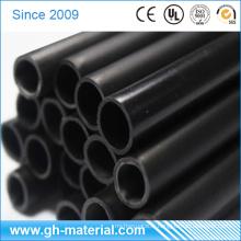 Tuyau rigide de PVC de tubes en plastique d'approvisionnement d'usine de 11mm noir pp pour la couverture de tube de LED