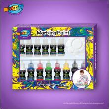 20ml Wasser Marmorierung Kit 6 Farben magische Marmorierung Farbe