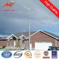 8m Hot DIP Galvanized Street Light Pole with Single Arm