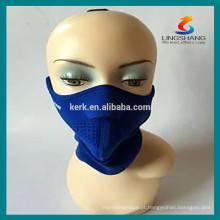Esportes esqui máscaras de protecção meia face capacete neoprene máscara