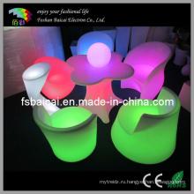 Открытый RGB LED мебель диван