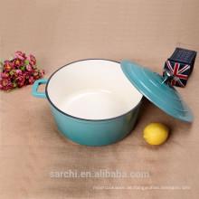Kochen Suppe Pot Gusseisen Emaille Kochgeschirr