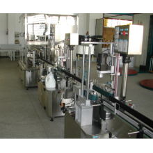 automatic pesticides filling and capping machine