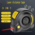 3 in 1 Digitales elektronisches Laserbandmaß | 40 m