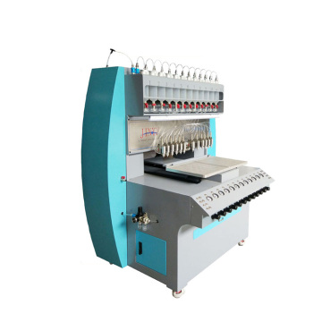 automatic silicone pvc rubber patch making machine