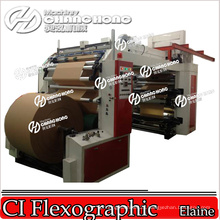 Automatically Paper Roll to Roll Printing Machine