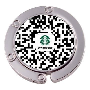 Пользовательские Qr-код сумки Вешалка сумки крюк (XS-BH0523)
