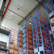 Material Handling of VNA heavy duty steel rack