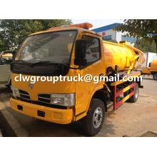 Dongfeng Sewage Suction Truck With Vacuum Pump