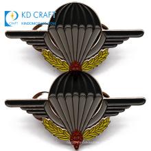 Free sample promotional custom metal soft enamel country souvenir badge wholesale hot air balloon lapel pin for sale