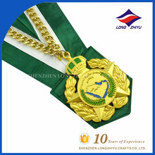 Médailles personnalisées à prix bon marché Faire des médailles de médailles personnalisées en métal