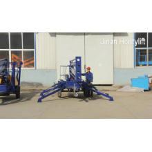 10-метровый гидравлический подъемник прицепа для очистки