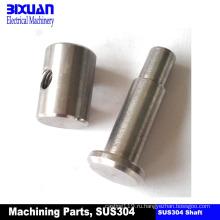 Вал подвергая Вал механической обработке часть CNC подвергая механической обработке часть