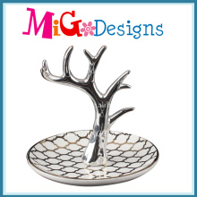 Hot Selling Display Jewelry Ceramic Ring Holders