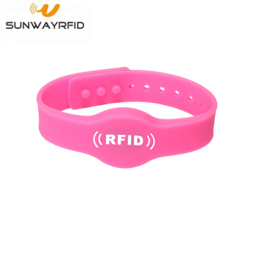 Reusable Silicone Writable Programmable RFID Wristband Chip