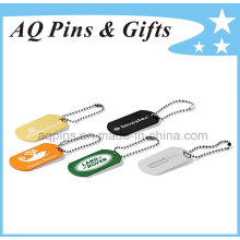 Metal Tags with Offset Printing