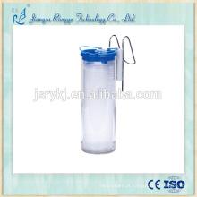 Lata de sucção de 2000ml com filtro de fecho para dispositivo de drenagem de líquidos médicos