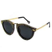 Vintage Fashion Wooden Sunglasses (SZ5685-1)