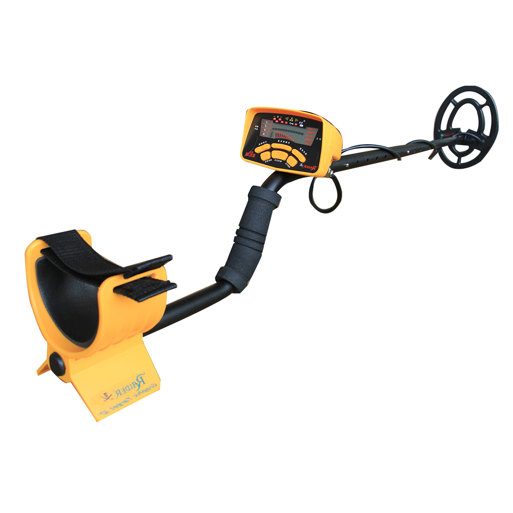treasure hunting metal detector