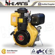 Dieselmotor mit Spline Shaft gelbe Farbe (HR192FB)