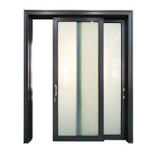Commercial aluminum frame Smart automatic Laminated glass sliding door