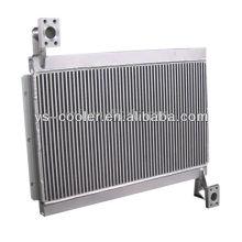 Алюминиевый теплообменник инженерных пластин для строительной машины / двухтрубный теплообменник / части строительного оборудования