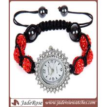 Mode-Uhr-Legierungs-Kasten-Frauen-Uhr-Dressing-Uhr (RA1220)