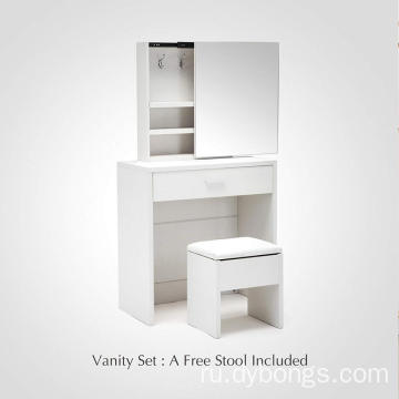 Furniture Vanity wooden dressing table designs with drawer