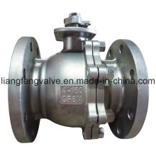 RF Flanged Ends Ball Valve of Stainless Steel