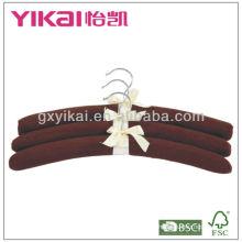 set of 3pcs cotton padded hangers