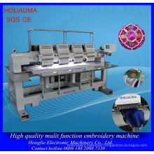 4 Head 15 Needle Cap Uniform Embroidery Machine / Factory High Quality Multi-Head Embroidery Machine
