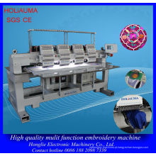 4 cabeça 15 agulha Cap uniforme bordado máquina / máquina de bordado industrial alta qualidade multi-cabeça